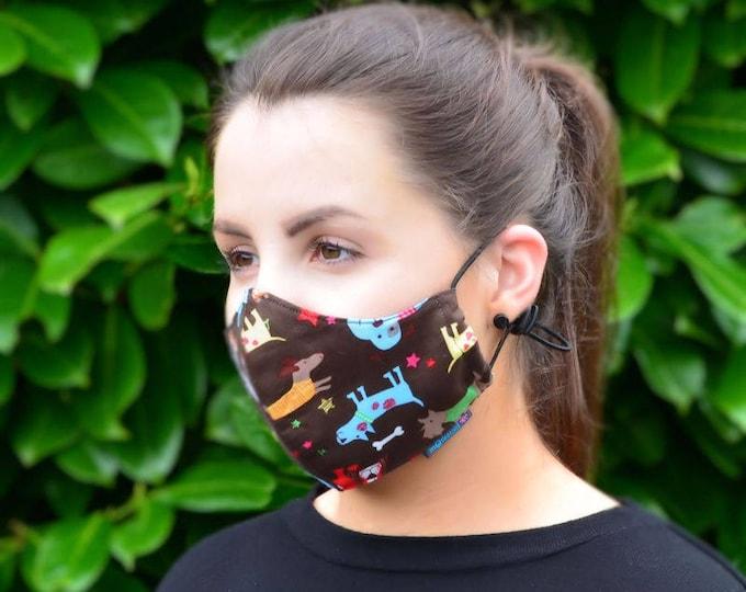 MASKERAID® Dogs Life Reusable Cotton Face Mask