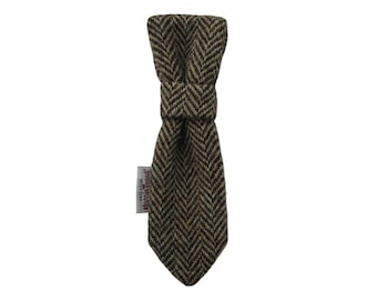 Harris Tweed 'Cooper' Dog Tie To Fit Any Collar