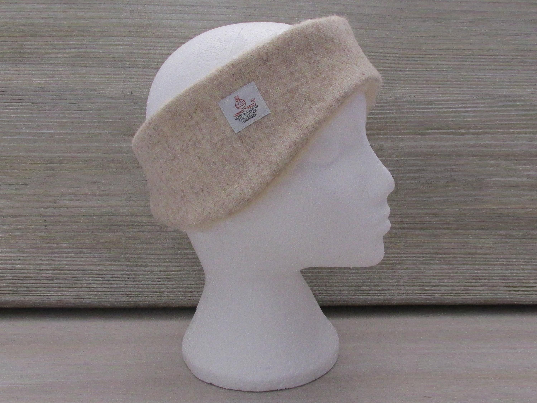 Harris Tweed Oatmeal Luxury Ear Warmer Headband.  27.03. Shipping ... 067ca2ae704