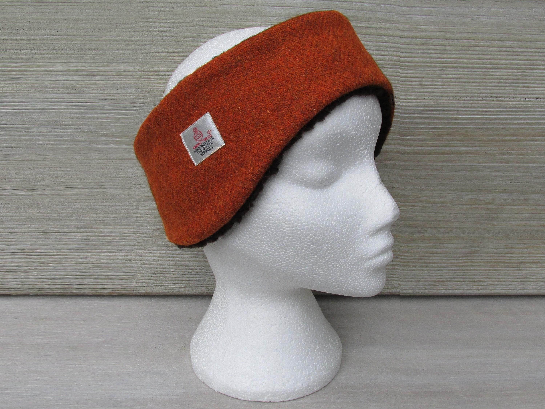 Harris Tweed Burnt Orange Luxury Ear Warmer Headband.  27.15. Shipping ... 38cf2b28cd1
