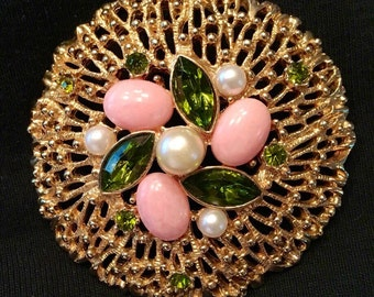 Large Sarah Coventry Brooch / Pin