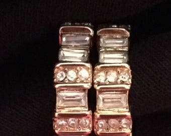 Reserved Christian Dior Crystal Earrings