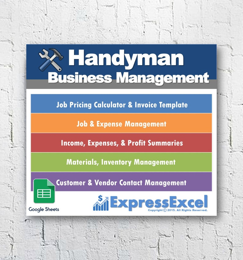 Software for handyman business