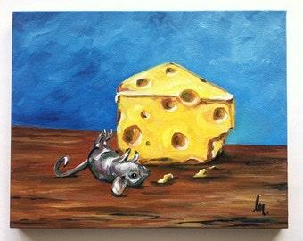Cheese Paintings Art