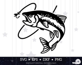 Download Fly Fishing Svg Etsy