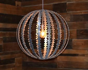 Chandelier / Pendant Light / Lighting - Deco Melon (large)