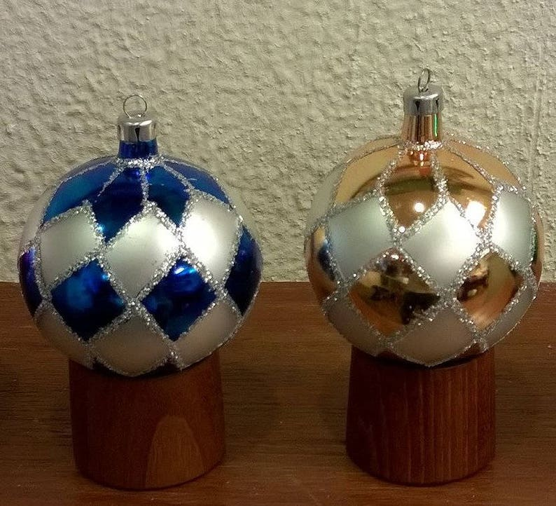 Glass Balls Christbaumkugeln.Vintage Glass Christmas Ornaments Nos With Box German Poland Hand Made Christbaumschmuck Christbaumkugeln 41