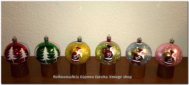 Christbaumkugeln Ornament.Vintage Glass Christmas Ornaments Nos With Box German Poland Hand Made Christbaumschmuck Christbaumkugeln 1
