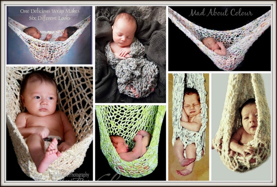 Baby Hammock Knitting Pattern Twin Big Newborn Hanging Baby Etsy