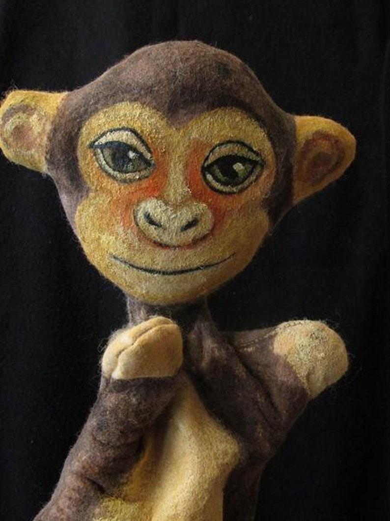 Monkey puppet image 0