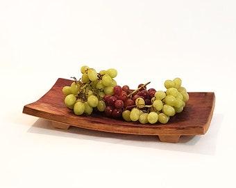 Wine Barrel Platter, Serving Platter, Wine Barrel Bowl, Chesse Platter, Fruit platter, Wedding gift idea