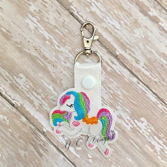 Horse Key Fob Horse Fanci Key Fob Digital Embroidery File  c05fe7254