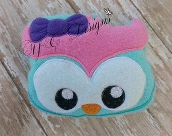 Owl Stuffie DIGITAL EMBROIDERY FILE
