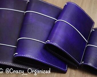 Royal Purple Travelers Notebook