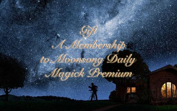 Gift A Membership to Moonsong Daily Magick