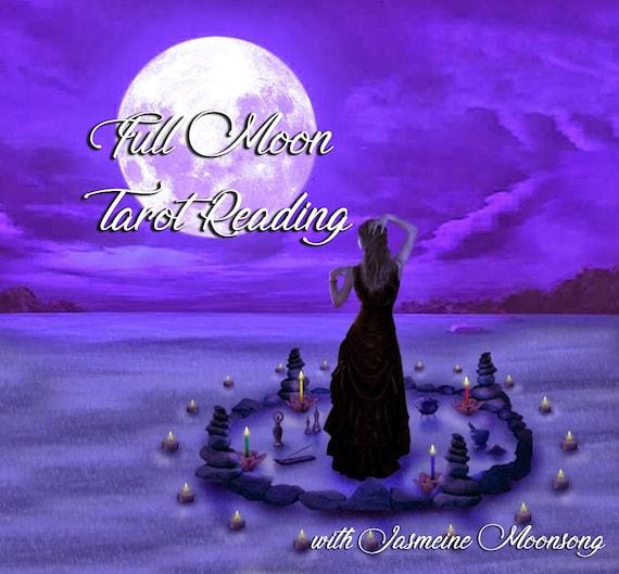 Full Moon Tarot Reading With Power Animal Oracle