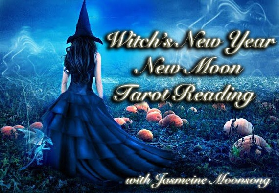 Witch's New Year New Moon Tarot Reading