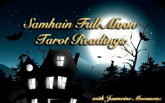 Samhain Full Moon Tarot Readings