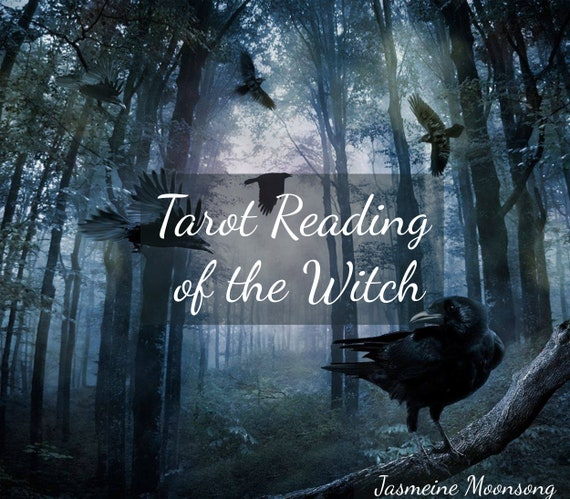 NEW!!!! Tarot Reading of the Witch