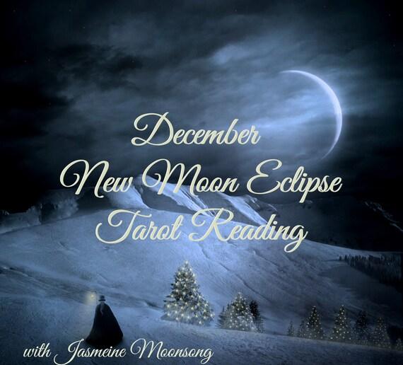 December New Moon Eclipse Tarot Reading
