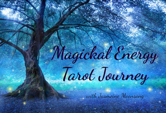 NEW!!! Magickal Energy Tarot Journey