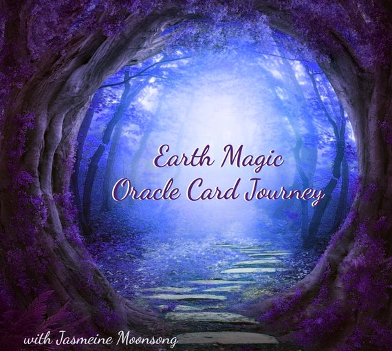 NEW!!! Earth Magic Oracle Card Journey