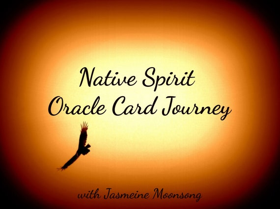 NEW!!! Native Spirit  Oracle Card Journey