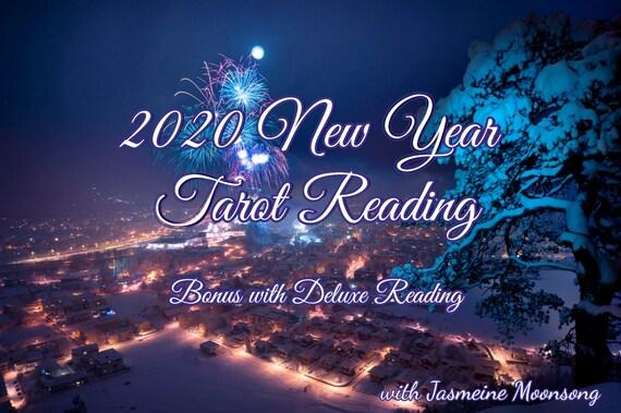 2020 New Year Tarot Forecast