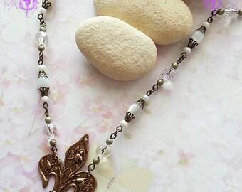 Fleur de Lys necklace