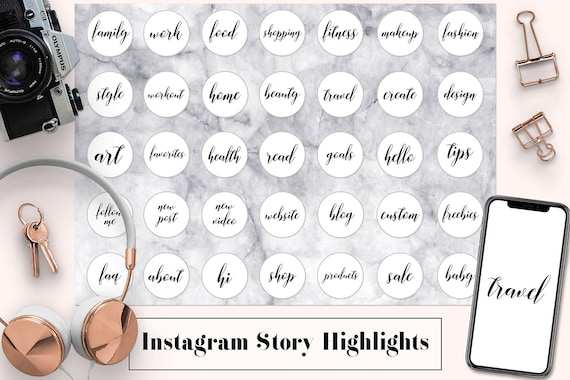 Instagram Story Highlight Icons Family Work Minimal Instagram Story Highlight Covers Workout Instagram Story Template