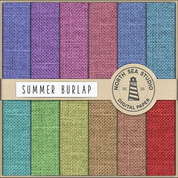 picture about Printable Burlap Paper titled Summer season BURLAP Electronic Paper Pack Sbook Paper Printable Burlap Backgrounds 12 JPG, 300dpi Documents Invest in5FOR8