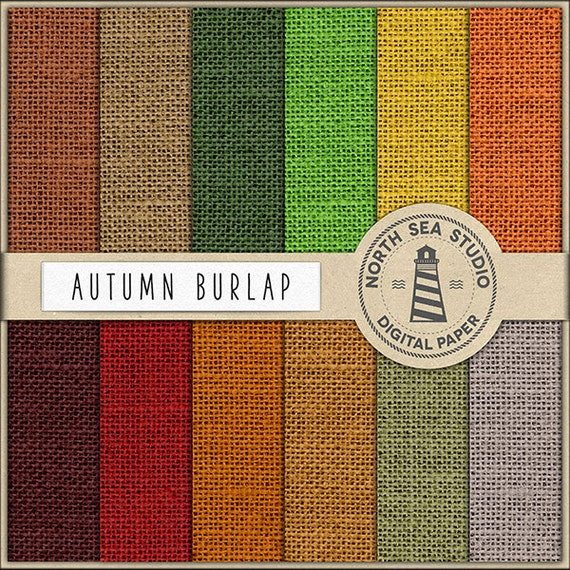 photograph relating to Printable Burlap Paper named AUTUMN Hues Burlap Electronic Paper Pack Burlap Paper