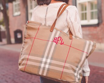 Monogram Tote Bag | Monogrammed Bag | Monogrammed Tote | Personalized Tote | Personalized Gifts for Teachers | Gifts for Her | Birmingham