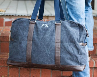 Monogrammed Duffle Bags | Personalized Groomsmen Gifts | Groomsmen Duffle Bag | Groomsmen Gift Ideas | Gifts for Groomsmen | Beau