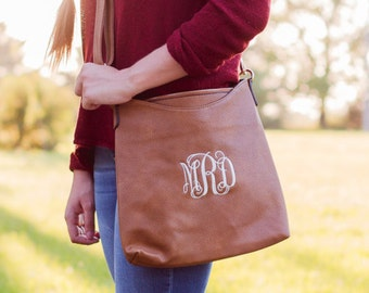 Monogrammed Crossbody Bag  | Monogram Crossbody | Purse | Cross body Bag | Personalized Gift for Mom | Mother's Day Gift | Memphis