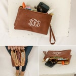 Monogram Wristlet | Monogram Wristlet Wallet| Personalized Wristlet | Personalized Gift | Gift for Her | Wristlet Wallet|clutch purse|Monroe