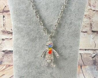 Chakra pendant, necklace chakra, XL necklace, pendant figure, yoga chakra, necklace, Buddha beads, spiritual, mantra, seven chakras