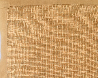 Cushion, armchair cushion hand-woven