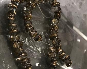 Crystal Amber  5 x 7 mm TICO Beads (23)