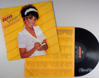 Donna Summer Live and More 1978 2-LP Vinyl MacArthur | Etsy