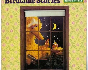 Sesame Street - Big Bird's Birdtime Stories (1980) Vinyl LP;
