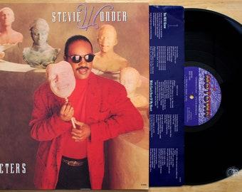 Stevie Wonder - Characters (1987) Vinyl LP  Skeletons, Michael Jackson