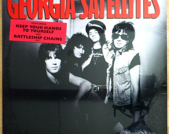 Georgia Satellites - Self Titled (1986) [SEALED] Vinyl LP  Debut