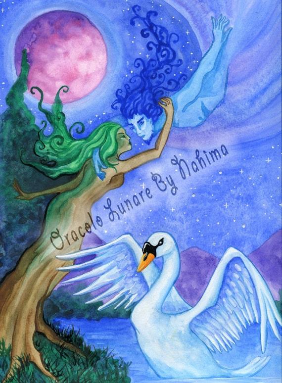 Resultado de imagen de postales de diosas en el cielo