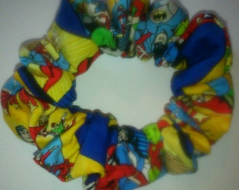 Dc superheros Hair Scrunchy