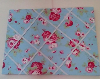 Notice Board in Cath Kidson material