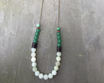 Spindrift Beaded Necklace