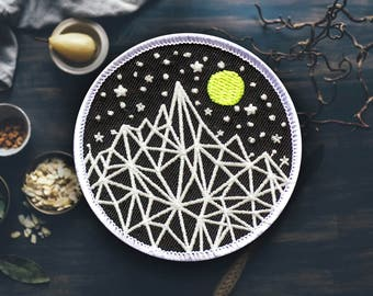 """Glow Mountain Patch 
