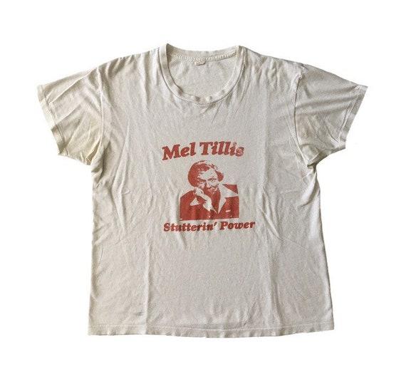Vtg. 70s Mel Tillis Stutterin Power Country Music