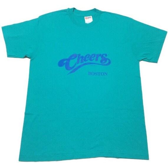Vtg. 80s Cheers Bar Boston T-Shirt